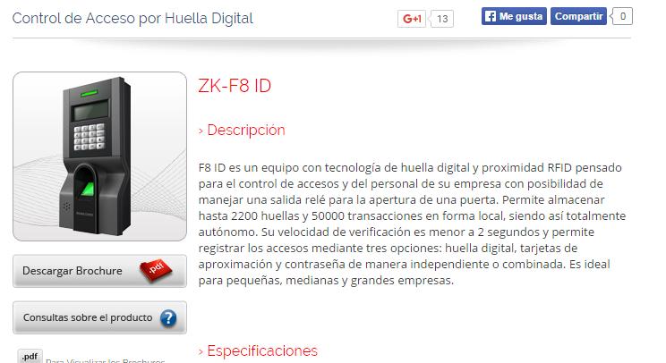 BUG en ZK F* Biométricos – Nerdadas!