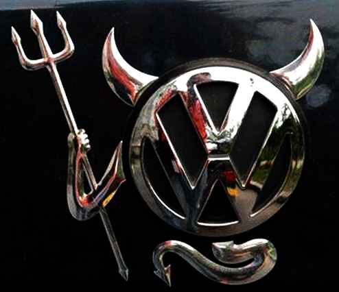 Evil Volkswagen!