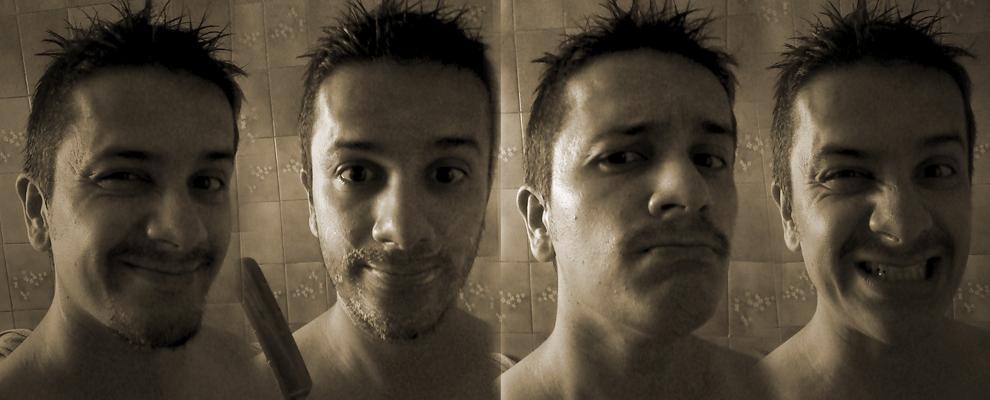 Movember con cara de Loco